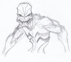 Putty Creature Re-Imagining sketch by ConstantM0tion
