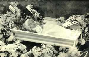 Post Mortem Photo Of a Baby by eviln8