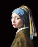 the girl with a pearl earring by annalobello