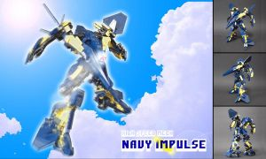 Navy Impulse by izzolegostyle