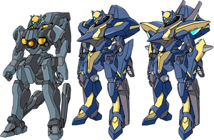 ANS-00X Einherjar Line KMFs by TurinuZ