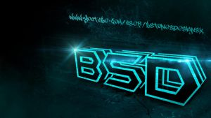 BstonesDesigns - 3D neon text background template by BstonesDesigns