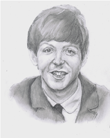 The Beatles - Paul McCartney by Richard-M-Williams