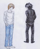 Death Note cosplay time 3 by BrET13