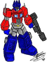 Normal Optimus by RyGuy52