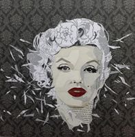Marilyn collage by jasonjantaya