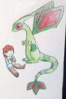 Samael and Flygon by Ramrum