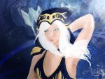 Ashe - The Frost archer - Freljord by Mayaneku