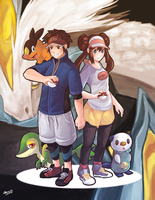Pokemon BW2 by mewDoubled