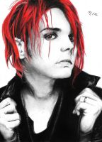 Drawing Gerard Way by Jennax3