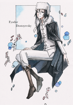 Fyodor Dostoyevsky Bungou stray dogs by AnALIBI