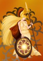 Athena by ArtFurry