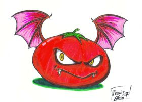 Draconic Tomato by CurseReaper