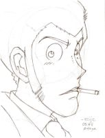 smoke: lupin III by reijr