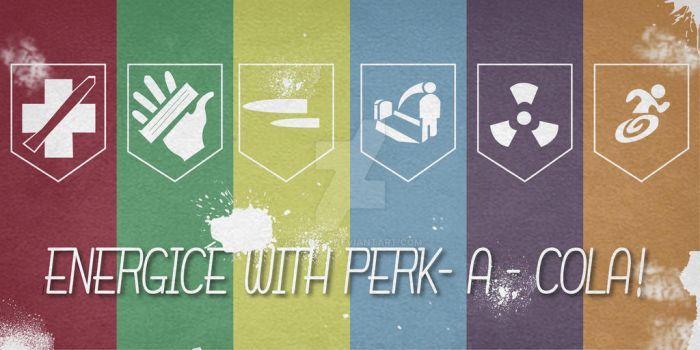 Perk - a - cola poster by car0297