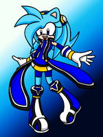 Jean the Hedgehog:redesign: by PixelatedFurryPanda
