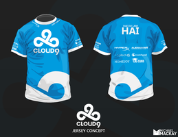 Cloud 9 Concept Jersey (Fan Art) by Mackaays