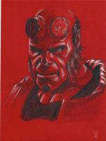 Hellboy by syr1979