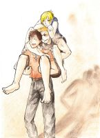 Together - Shingeki no Kyojin by EriKooriKo