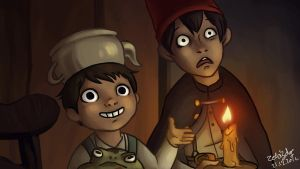 Over the garden wall by zebigdog