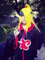 Deidara Cosplay at Sakura-Con 2014 by POOTERSS