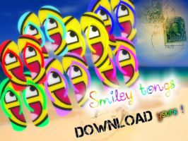 MMD DOWNLOAD Smiley tongs by salutcoucou