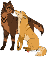 Wolf Breedable Pair 1 by hammer-Cat