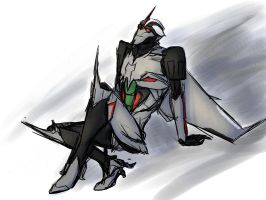 Starscream - chill by rabbitzoro