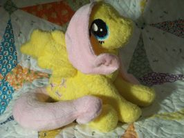 Fluttershy Plush by eebharas
