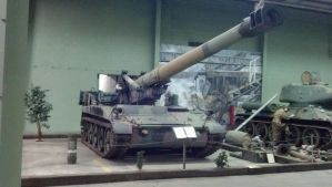 M110A1 Self Propelled Howitzer by benracer