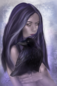 Raven queen by Arkel666