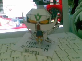 turn a gundam chiby paperc by Grim-paper