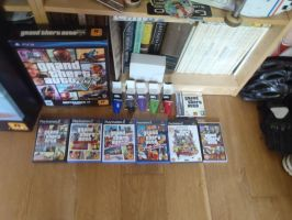 GTA PS2 Games by DOM098652