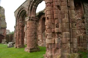 Lindisfarne Priory 5 by RaeyenIrael-Stock