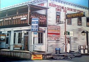 Harper's old country store by prismacolorjessie