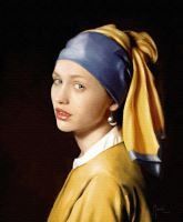 Girl with a Pearl Earring by Murciano