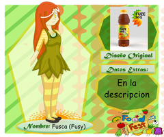 Food Fest Fuze Tea Fusy by Infernal-Illusion