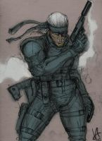 Solid Snake by AndgIl