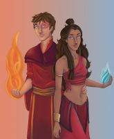 Hot and Cold: Zutara by ShimmerStar