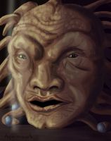 Face of Boe by hyenacub