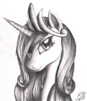 Princess Cadence Portrait by Graboiidz