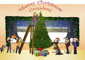 Merry Christmas Crusaders! by LyricaBelachium