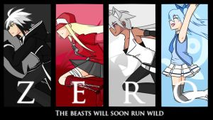 [ZERO (Beasts) ] Team Poster by KatsuragiRyuu