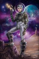 SPACE GIRL. by HisakiChan