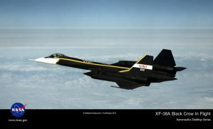 Lockheed Martin XF-38A ''Black Crow'' by Bispro