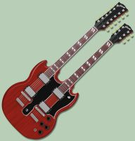 Gibson EDS-1275 Guitar by hvrock13