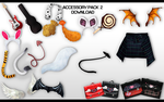 MMD Accessory Pack 2 DL by UnluckyCandyFox