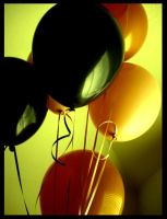 Balloons II. by theporcelaindollie