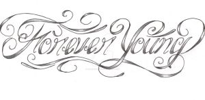 Forever Young custom tattoo by expedient-demise