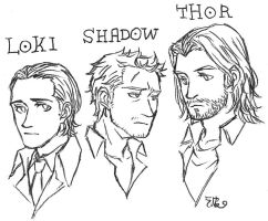 the three sons of Odin by po19
